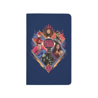 Justice League | Diamond Hatch Group Badge Journal