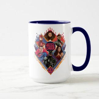 Justice League | Diamond Hatch Group Badge Mug