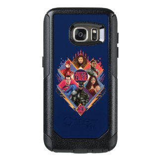 Justice League | Diamond Hatch Group Badge OtterBox Samsung Galaxy S7 Case