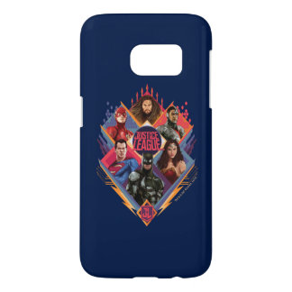 Justice League | Diamond Hatch Group Badge Samsung Galaxy S7 Case