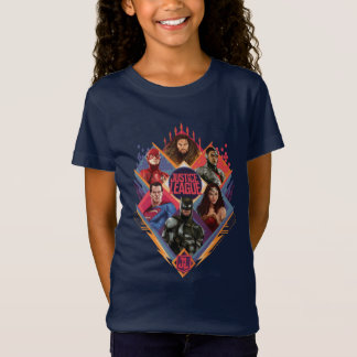 Justice League | Diamond Hatch Group Badge T-Shirt