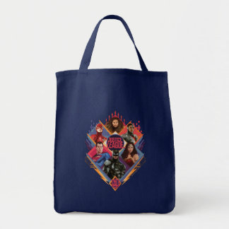 Justice League | Diamond Hatch Group Badge Tote Bag