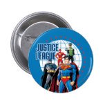 Justice League Global Heroes 2 Inch Round Button