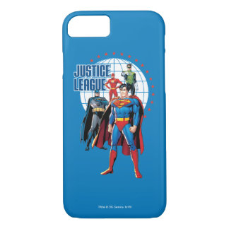 Justice League Global Heroes iPhone 8/7 Case