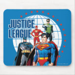 Justice League Global Heroes Mouse Pad