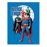 Justice League Global Heroes Postcard