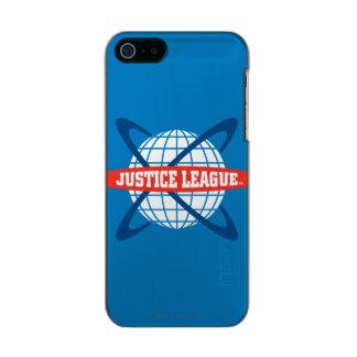 Justice League Globe Logo Incipio Feather® Shine iPhone 5 Case