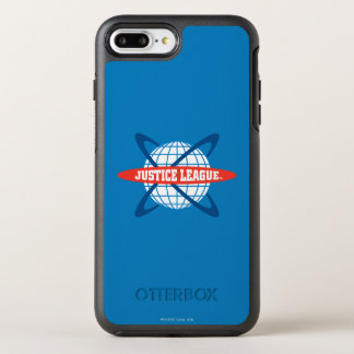 Justice League Globe Logo OtterBox Symmetry iPhone 7 Plus Case