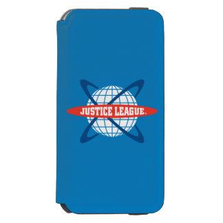 Justice League Globe Logo Incipio Watson™ iPhone 6 Wallet Case