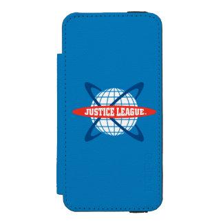 Justice League Globe Logo Incipio Watson™ iPhone 5 Wallet Case