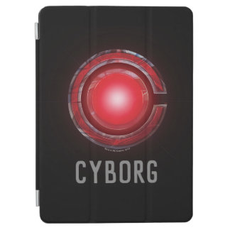 Justice League   Glowing Cyborg Symbol iPad Air Cover
