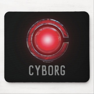 Justice League | Glowing Cyborg Symbol Mouse Pad
