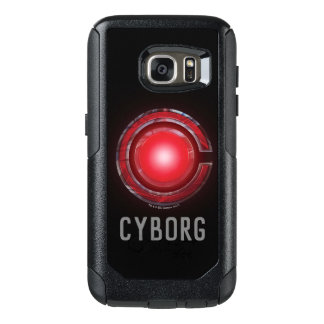 Justice League | Glowing Cyborg Symbol OtterBox Samsung Galaxy S7 Case