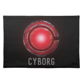 Justice League | Glowing Cyborg Symbol Placemat