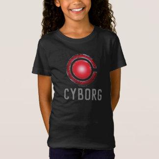 Justice League   Glowing Cyborg Symbol T-Shirt