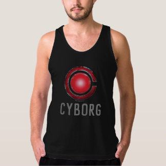 Justice League | Glowing Cyborg Symbol Tank Top