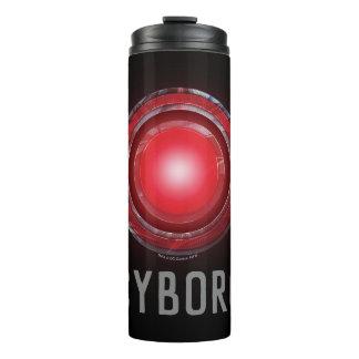 Justice League | Glowing Cyborg Symbol Thermal Tumbler