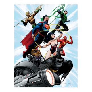 Justice League - Group 1 Postcard