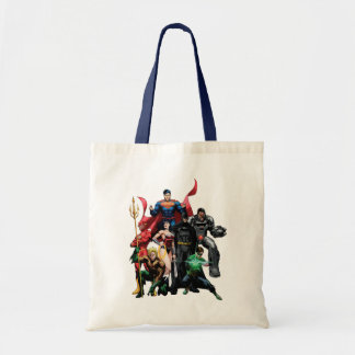 Justice League - Group 2 Budget Tote Bag