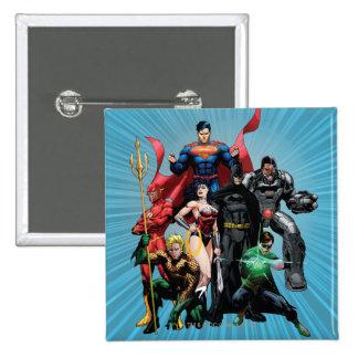 Justice League - Group 2 Button