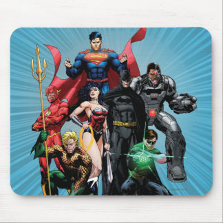 Justice League - Group 2 Mouse Pad