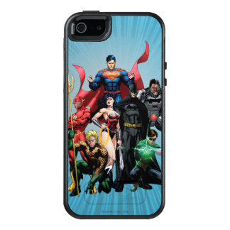 Justice League - Group 2 OtterBox iPhone 5/5s/SE Case