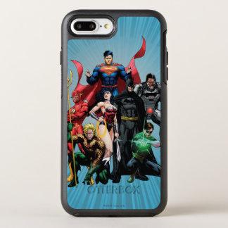 Justice League - Group 2 OtterBox Symmetry iPhone 7 Plus Case