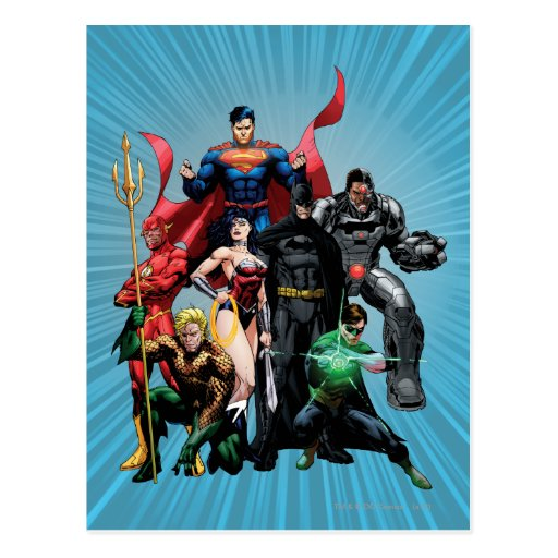 Justice League - Group 2 Post Cards