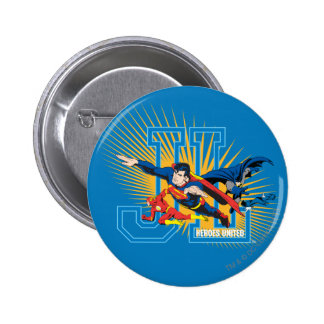 Justice League Heroes United 2 Inch Round Button