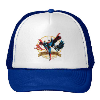 Justice League Heroes United Trucker Hats