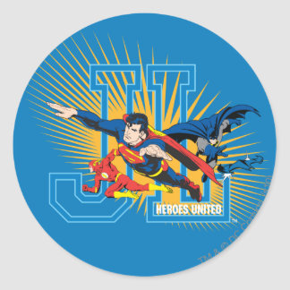 Justice League Heroes United Stickers