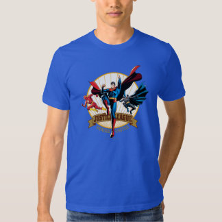 Justice League Heroes United Tshirts
