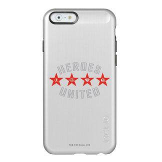 Justice League Heroes Untied Logos Incipio Feather® Shine iPhone 6 Case