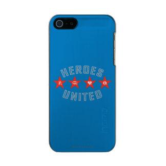 Justice League Heroes Untied Logos Incipio Feather® Shine iPhone 5 Case