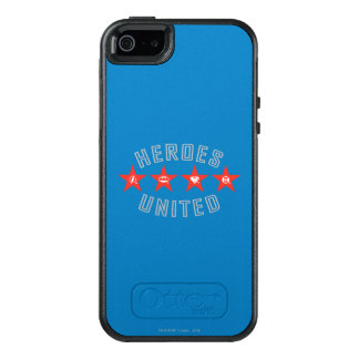 Justice League Heroes Untied Logos OtterBox iPhone 5/5s/SE Case