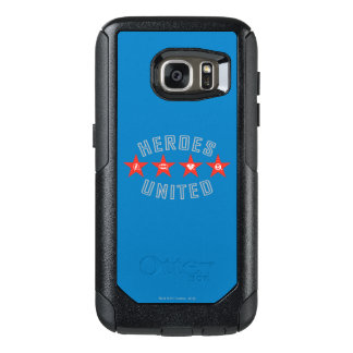 Justice League Heroes Untied Logos OtterBox Samsung Galaxy S7 Case