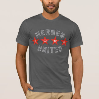 Justice League Heroes Untied Logos T-Shirt