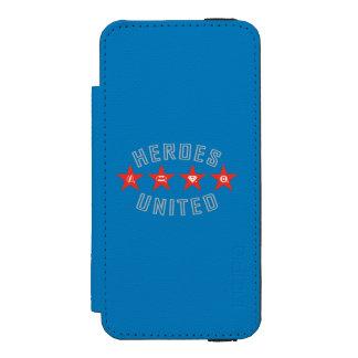 Justice League Heroes Untied Logos Incipio Watson™ iPhone 5 Wallet Case