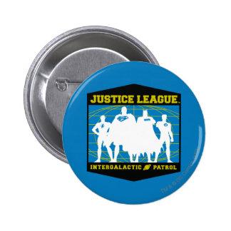 Justice League Intergalactic Patrol 2 Inch Round Button