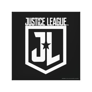 Justice League | JL Shield Canvas Print