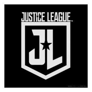 Justice League | JL Shield Poster