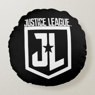 Justice League | JL Shield Round Pillow