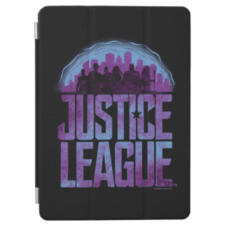 Justice League   Justice League City Silhouette iPad Air Cover