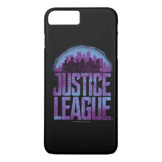 Justice League | Justice League City Silhouette iPhone 8 Plus/7 Plus Case