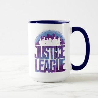 Justice League | Justice League City Silhouette Mug