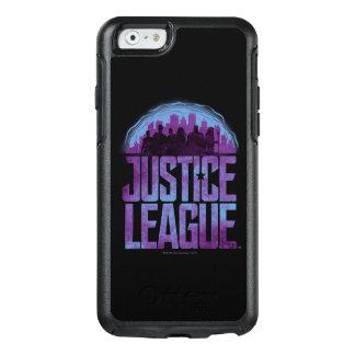 Justice League | Justice League City Silhouette OtterBox iPhone 6/6s Case