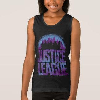 Justice League | Justice League City Silhouette Tank Top