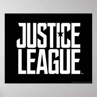 Justice League   Justice League Logo Poster