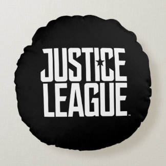 Justice League | Justice League Logo Round Pillow