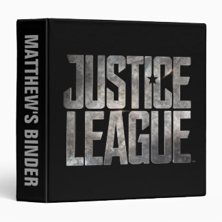 Justice League | Justice League Metallic Logo Binder